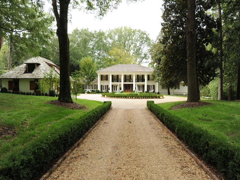 Impeccable plantation style estate for Estate home plans designs
