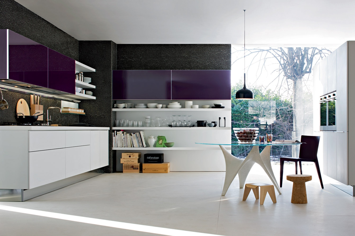Kitchen designs with personality for Kitchen set hpl