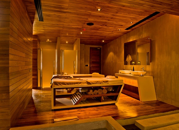 Spa la casa treatment beds