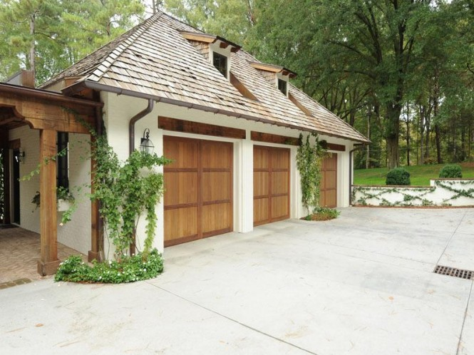 PlantationStyle Garage Door