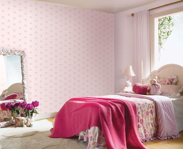 Wallpaper Ideas For A Girl's Bedroom