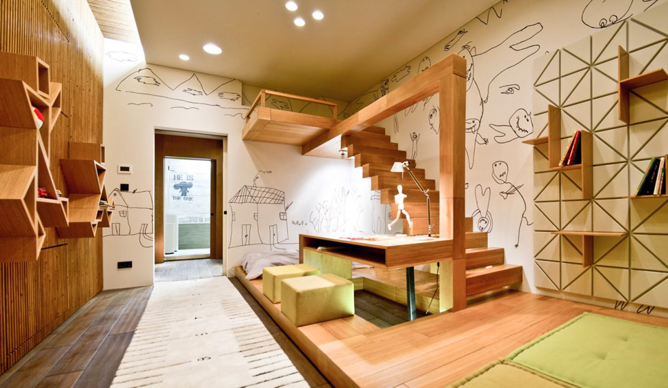 industrial loft apartment in kiev