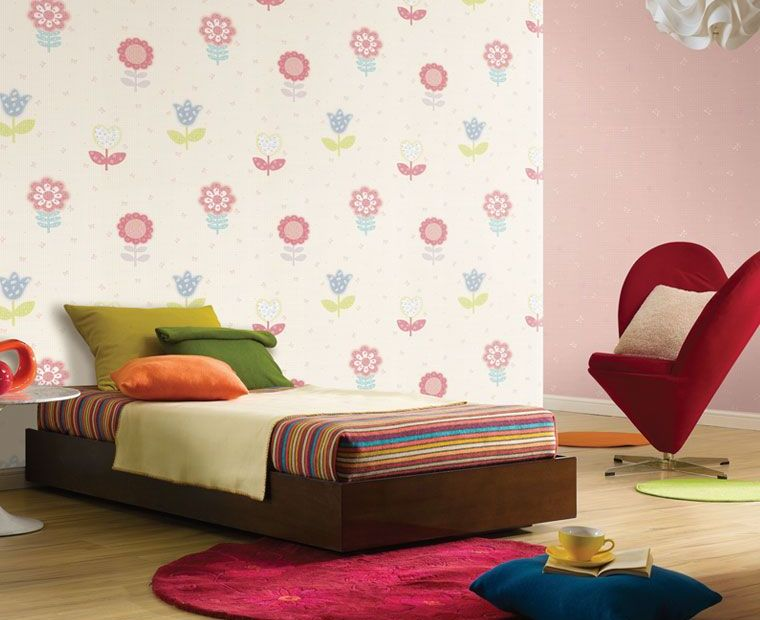 Cute quirky wallpaper for kids for Kids room wall paper