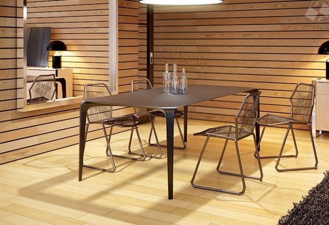 contemporary dining suite