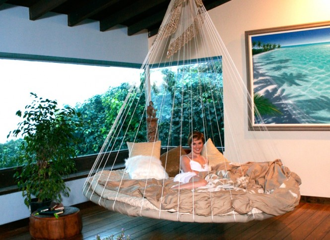 indoor floating bed hammock