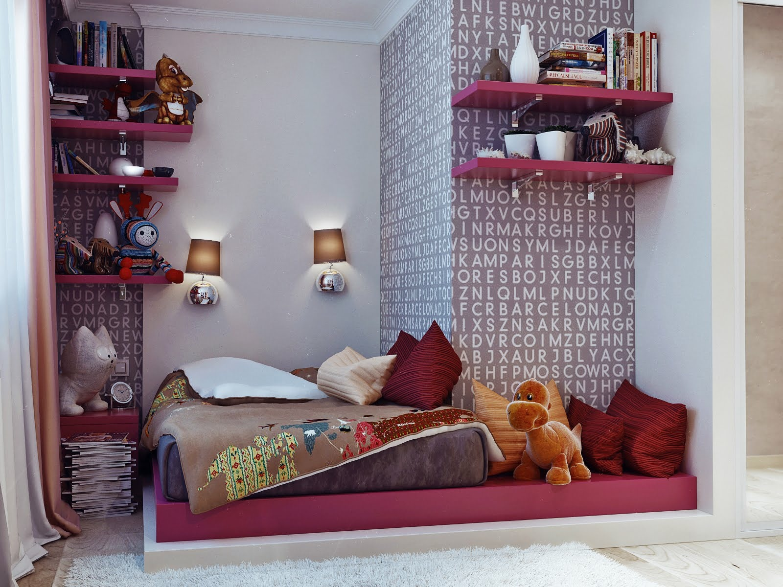 terrific young teenager's rooms
