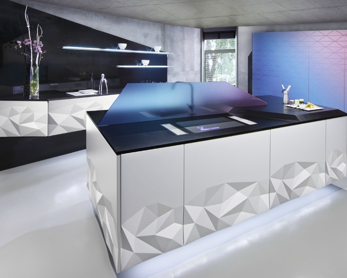 Black Modern Kitchen white black modern kitchen | interior design ideas.
