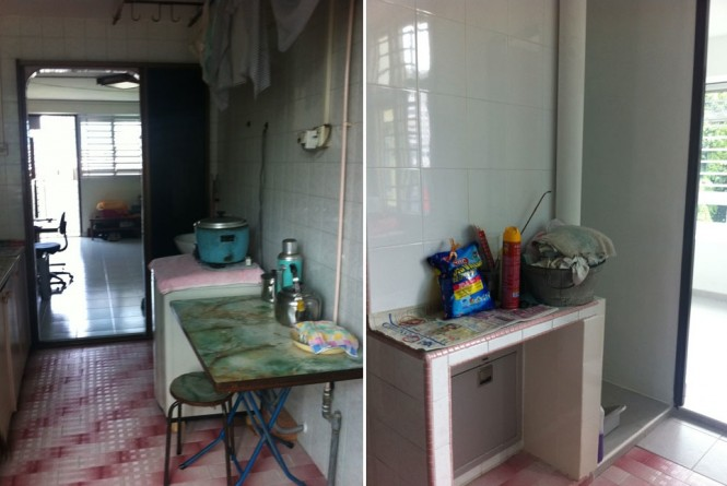 (Above: Kitchen 'Before')