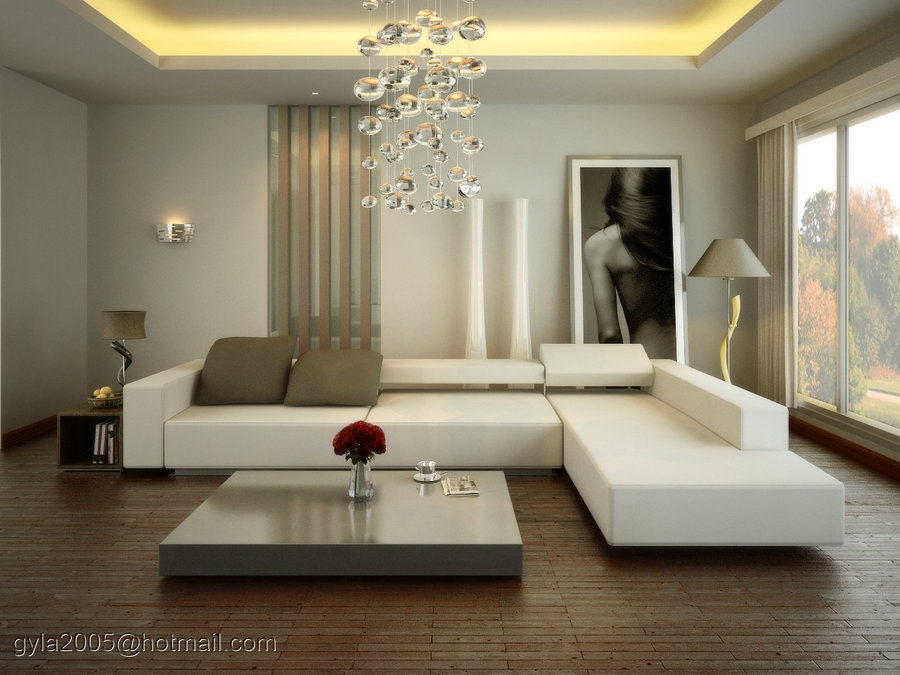 modern living room interior design 2013 spacious modern living trends