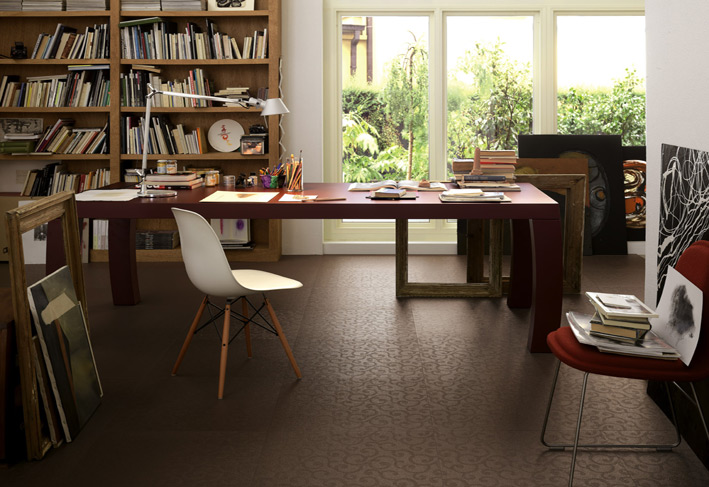 Top to toe ceramic tiles for Best carpet for home office