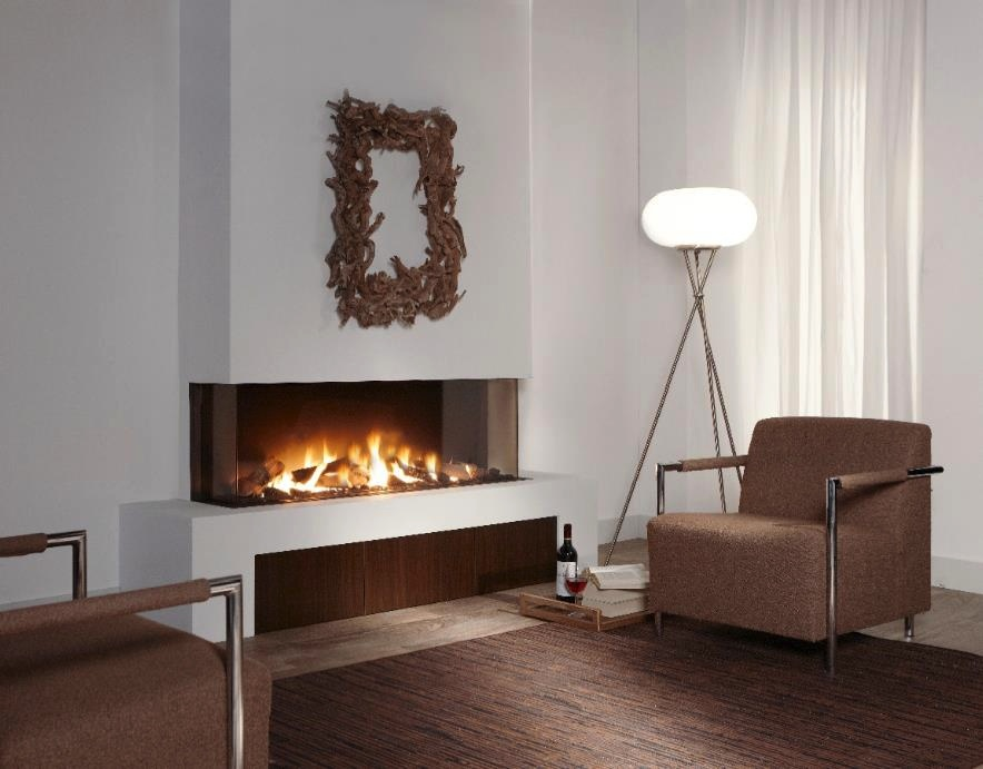 Fabulously minimalist fireplaces for Interior fireplaces designs