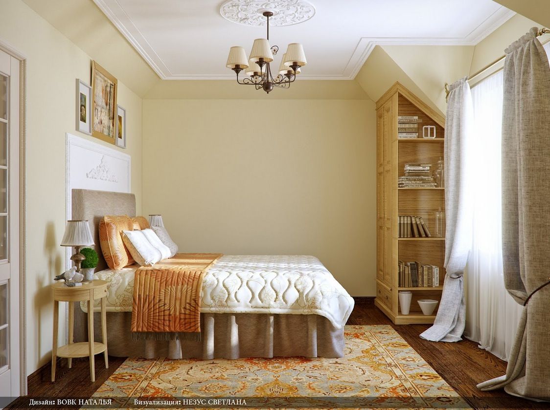 Orange cream bedroom rug interior design ideas for Rug in bedroom