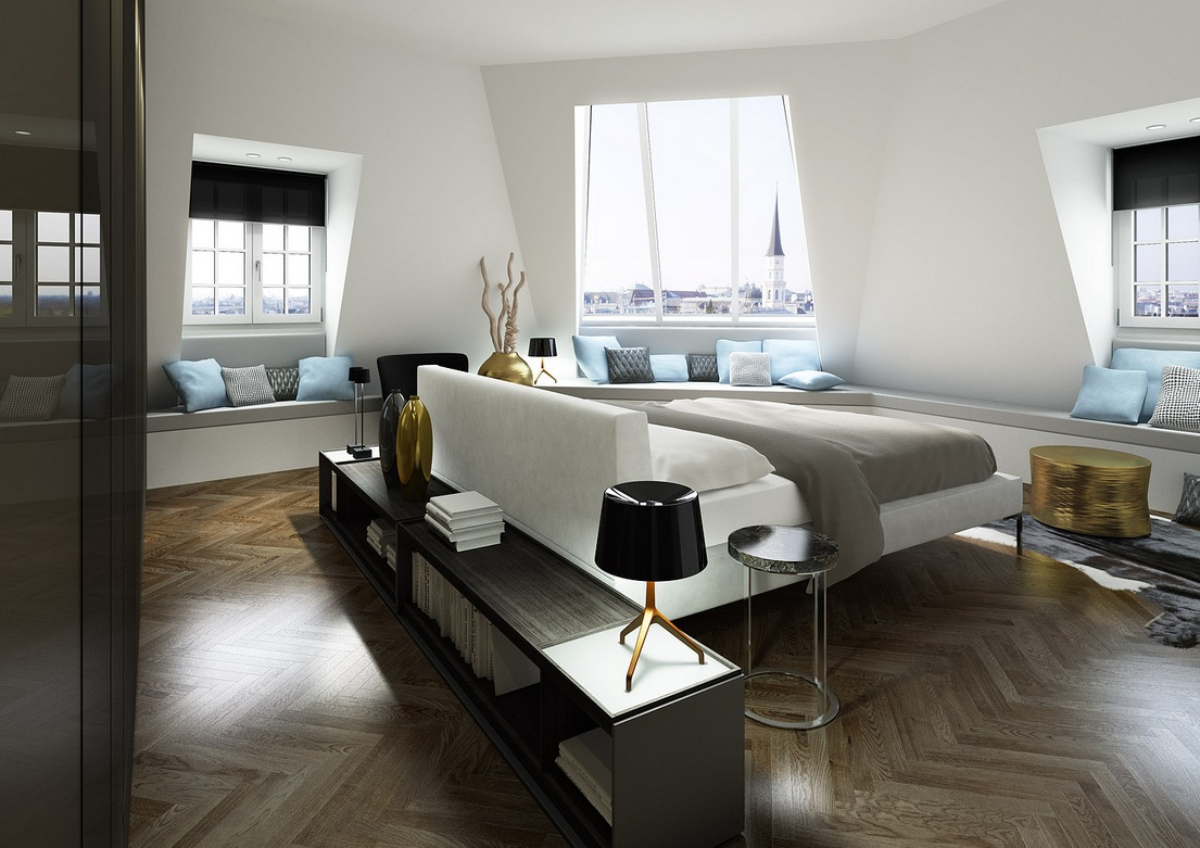 Contemporary Bedroom Designs 2012 smart and sassy bedrooms