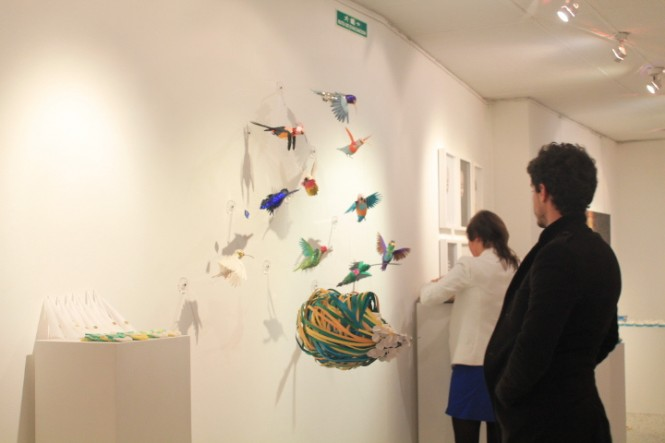 100 Beautiful Bird Sculptures Made Out Of Paper: Interior Design Ideas