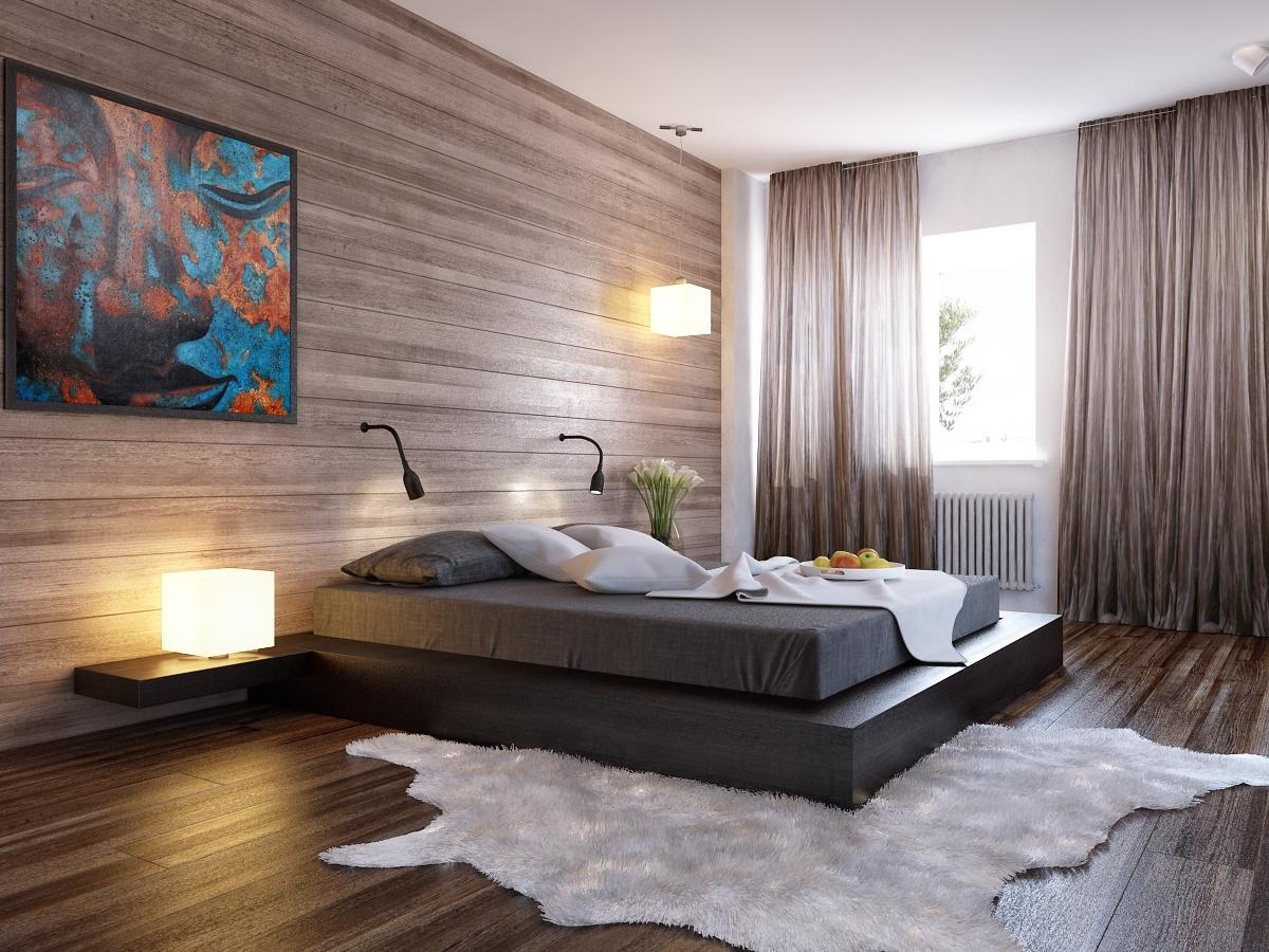 Modern Bedroom Wall Designs. Modern Bedroom Wall Designs L