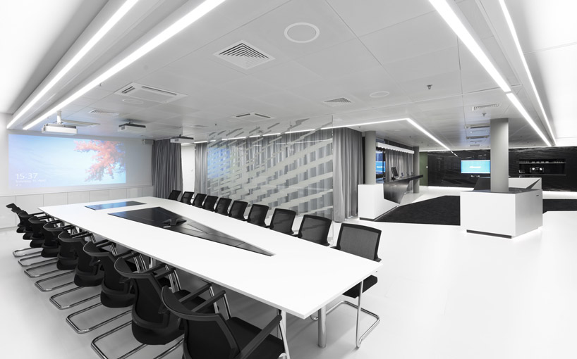 Contemporary meeting room interior design ideas for Meeting room interior design ideas