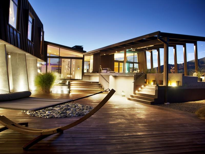 Contemporary outdoor decking interior design ideas for House interior design new zealand