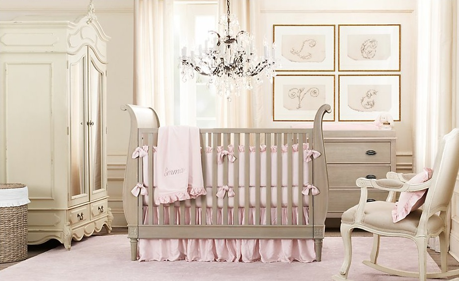 Baby room design ideas for Baby pink bedroom ideas