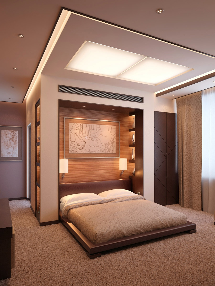The makings of a modern bedroom for Modern bedroom