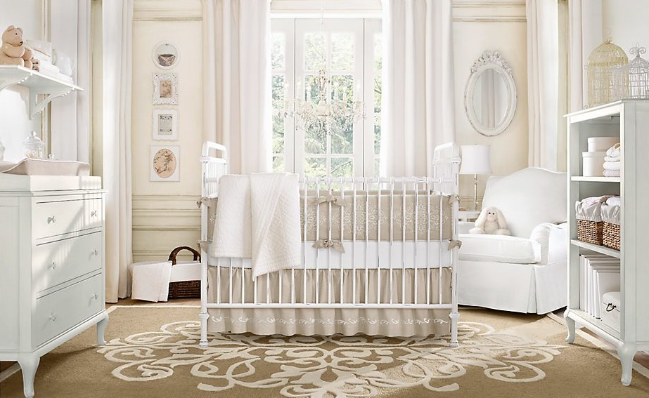 Neutral Color Baby Room Design Interior Design Ideas