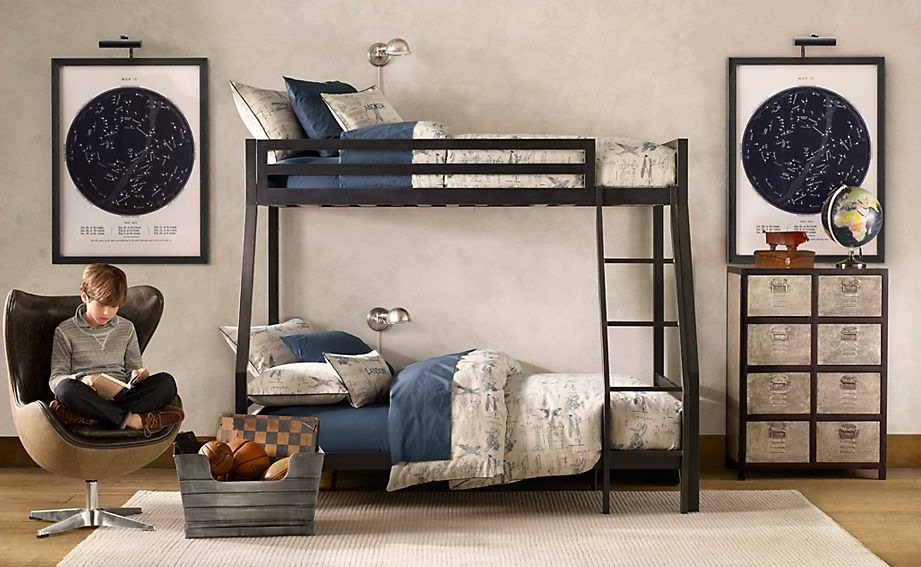. Traditional boys bedroom bunkbeds   Interior Design Ideas