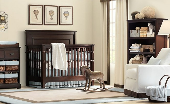 Traditional boys nursery