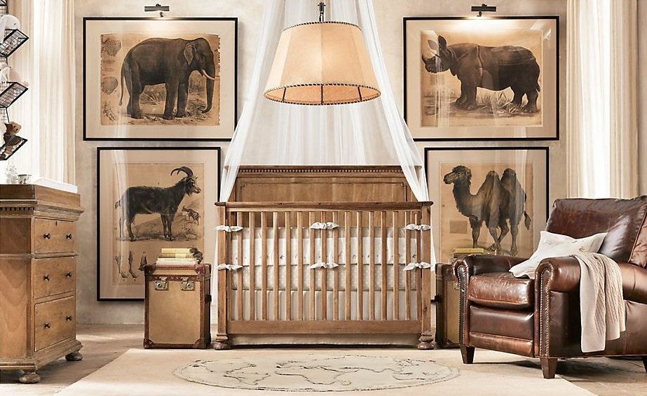 Looking for an animal theme? Consider a traditional safari style ...