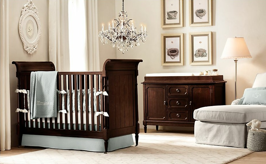 wooden nursery furniture interior design ideas