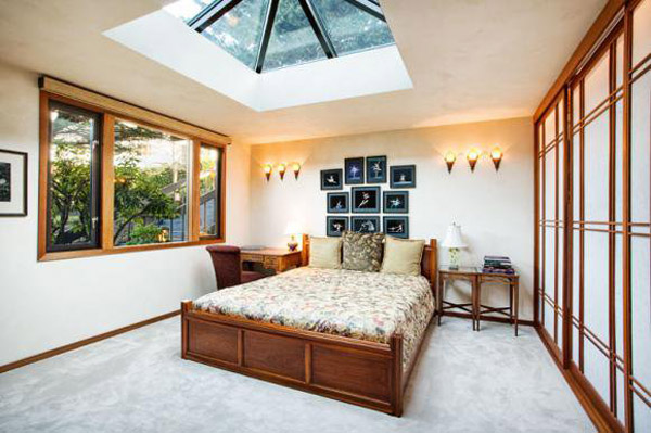Bedroom Skylight Interior Design Ideas