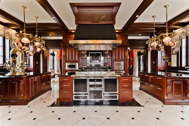 Mansion Interior Kitchen Interiors Design