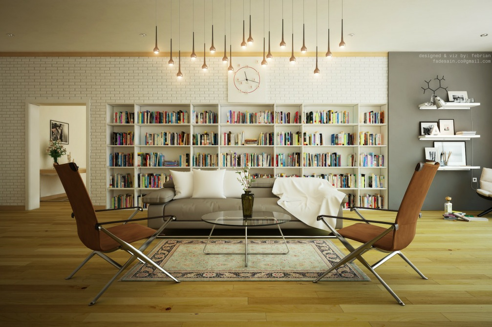 Library designs - Library living room ideas ...
