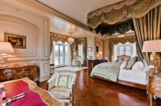 luxury vintage bedroom design