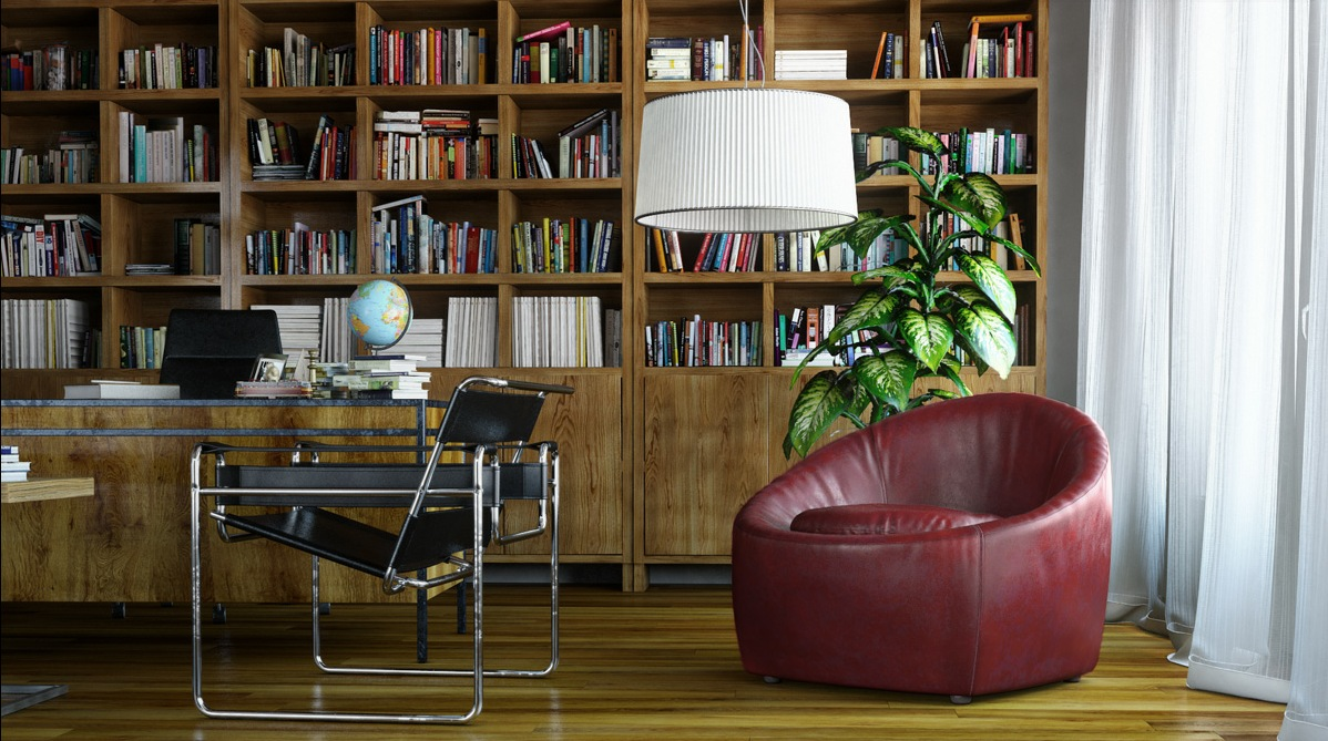 Office Library Interior Design Ideas
