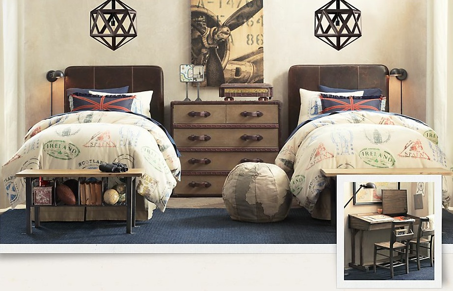 A treasure trove of traditional boys room decor for Kid room decor