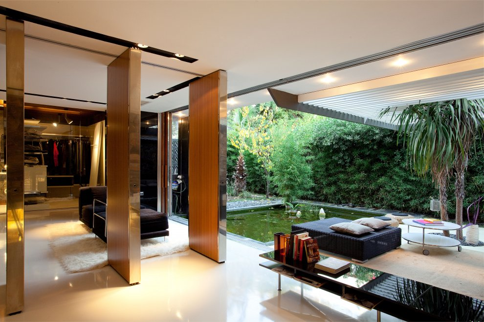 Modern courtyard interior design ideas for Apartment outdoor design