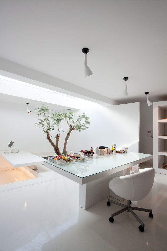 moden white office interior design ideas