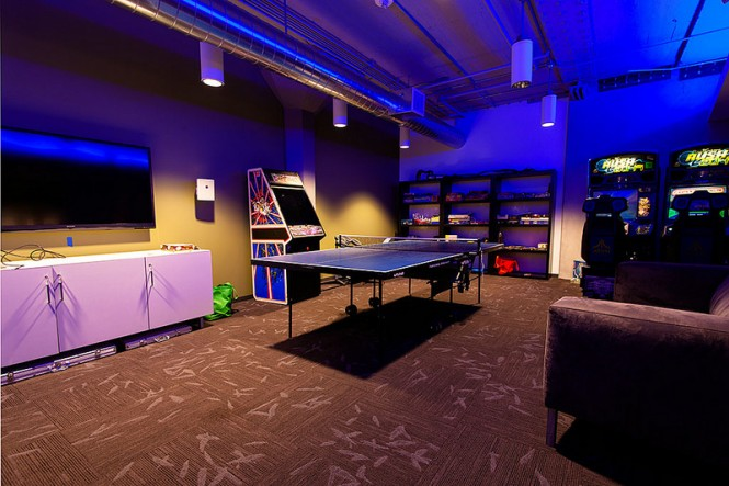 Games room lounge