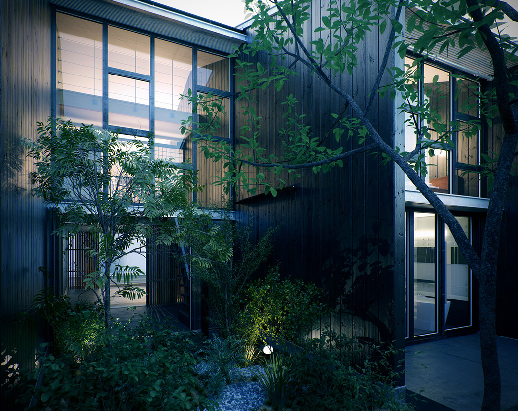 Modern japanese home Architect modern zen type house