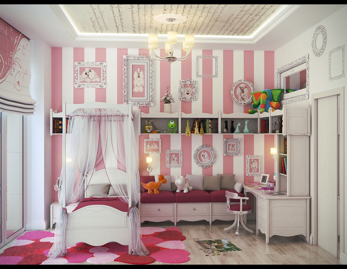 Cute Rooms For Girls Gorgeous Cute Girls' Rooms