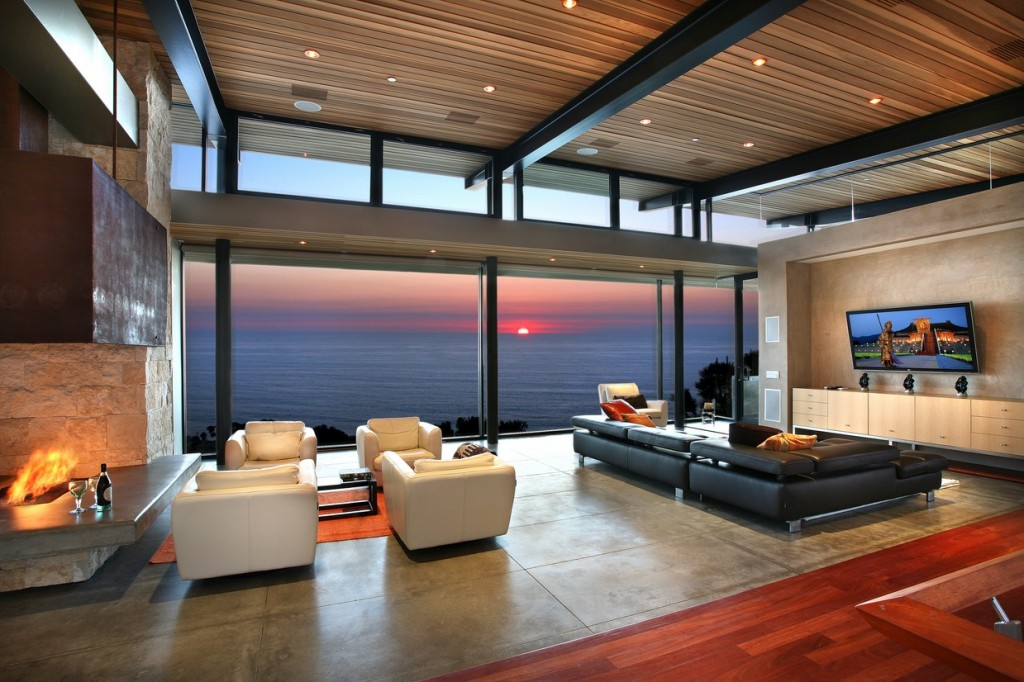 cool living rooms.  Living Rooms With Great Views