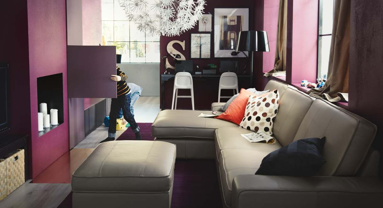 Purple Living Room Furniture Ikea 2013 Catalog