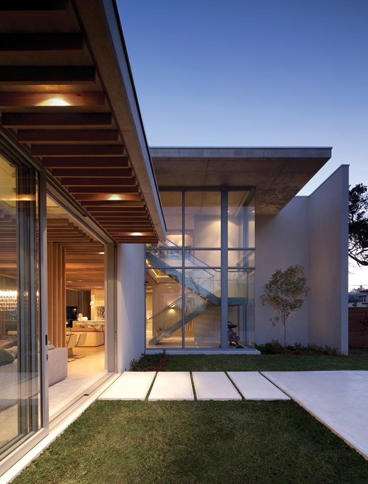 Contemporary cocoon house