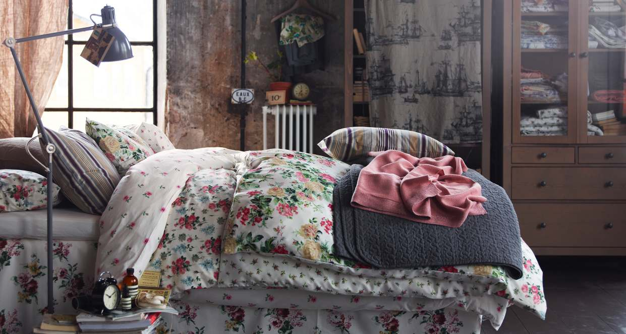 Ikea 2013 catalog for Shabby chic bedroom designs