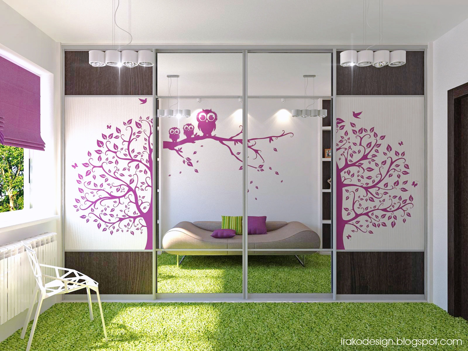 superb Girl Teenage Room Decor Part - 15: Interior Design Ideas