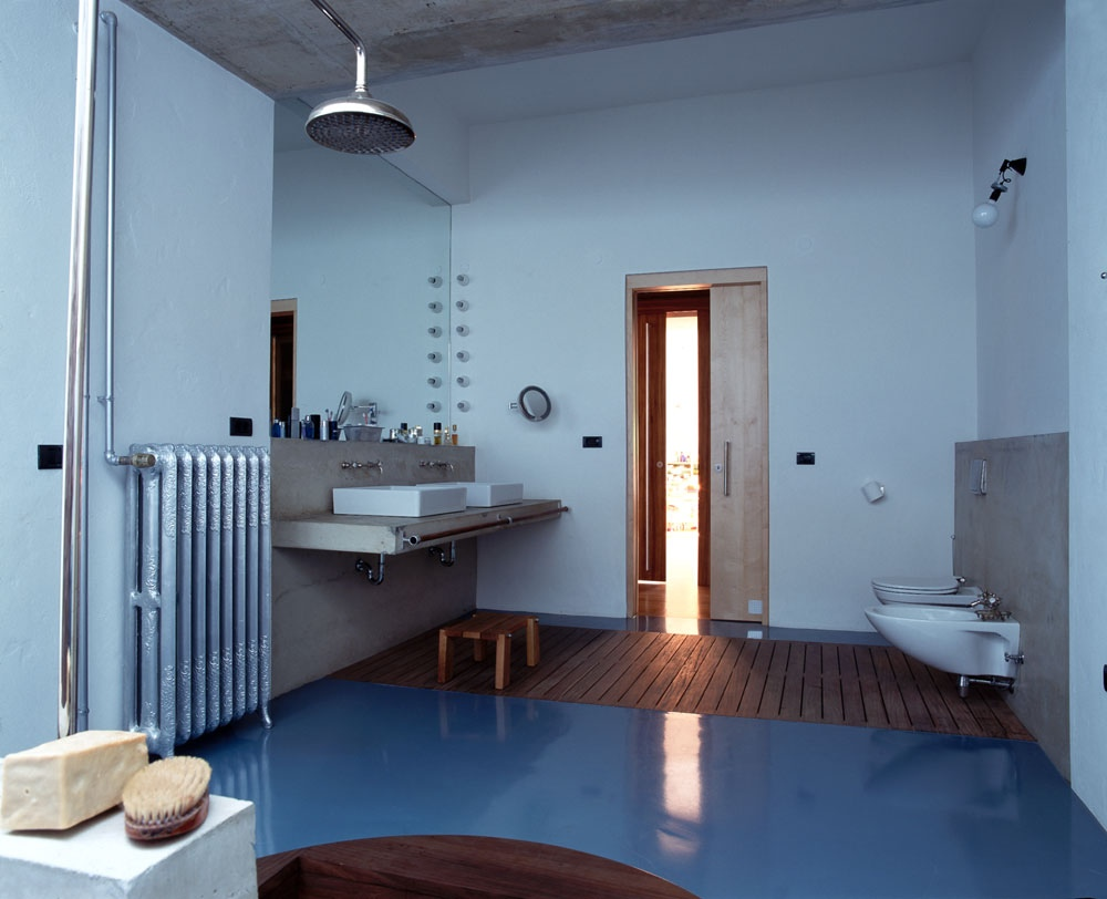 Bathrooms of the world for Unique interior design styles