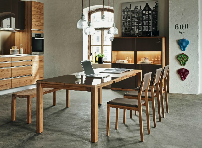 Modern Wooden Dining Chairs wooden furniture in a contemporary setting