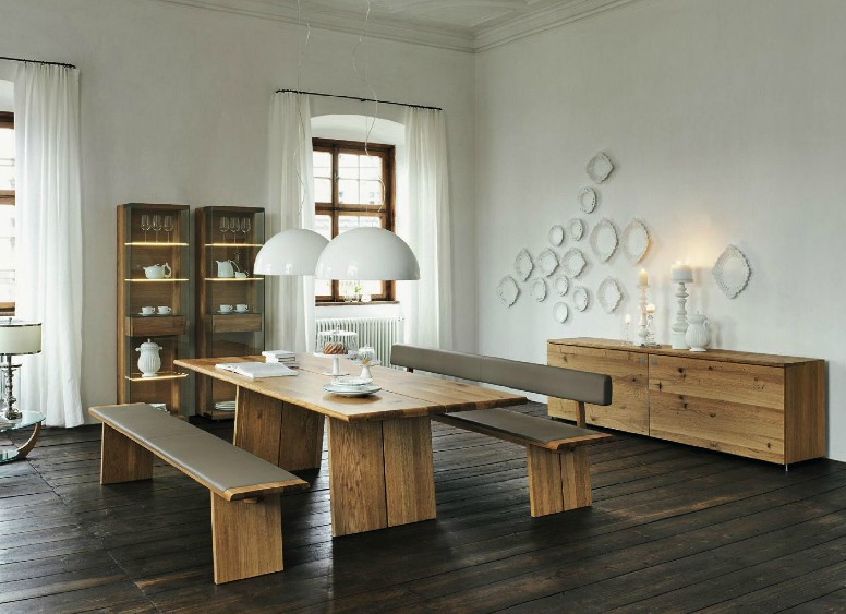 Furniture Design Wood wooden furniture in a contemporary setting