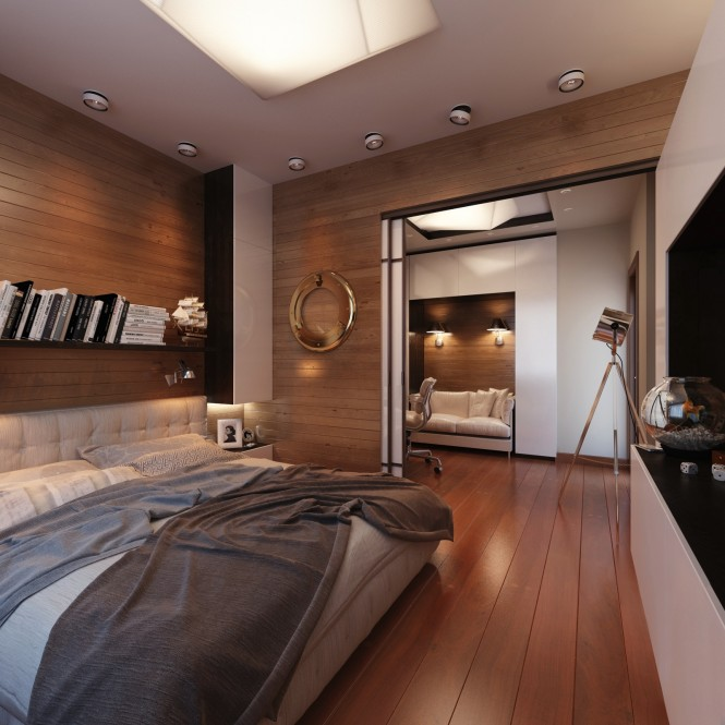 Yacht style bedroom