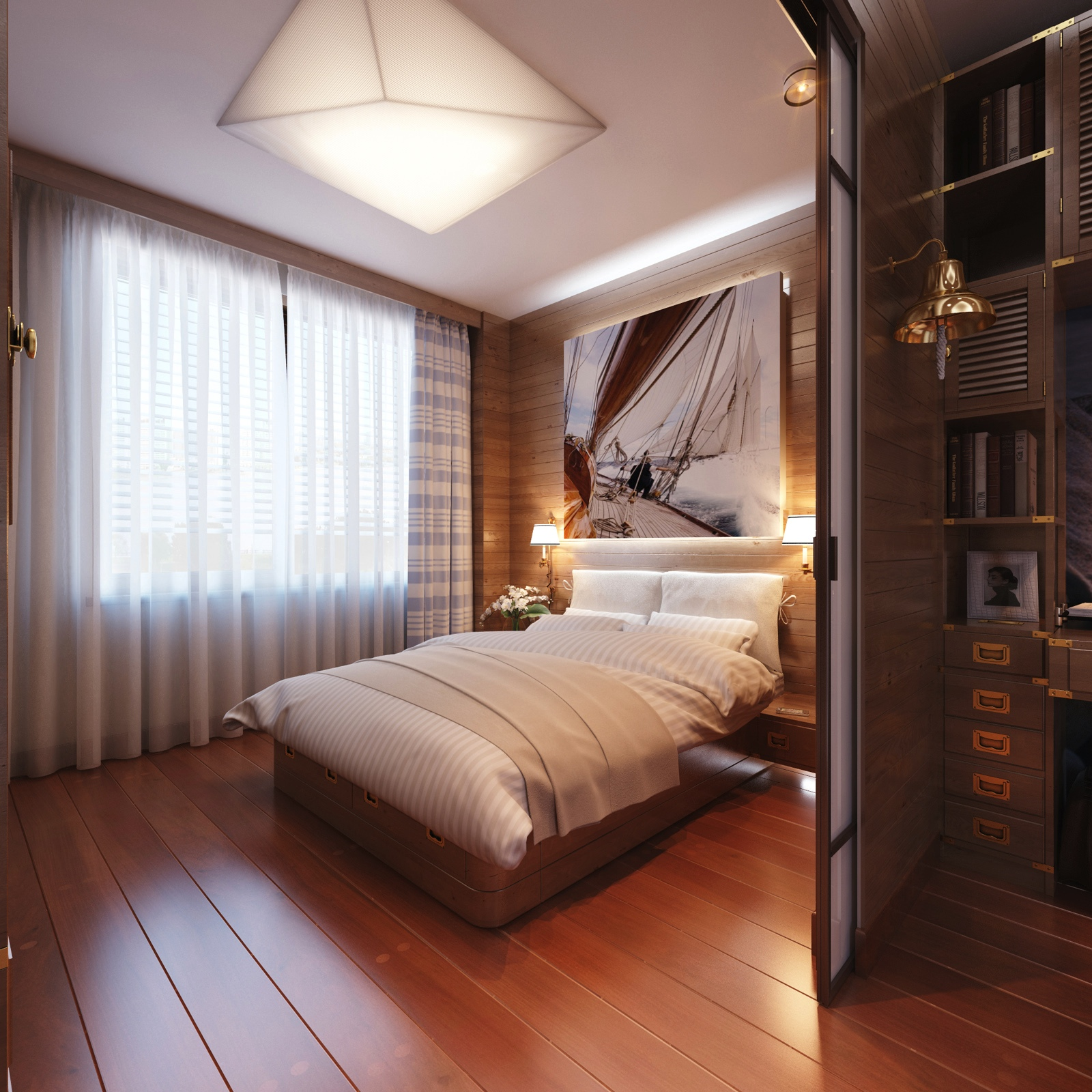 Travel themed bedroom for seasoned explorers for Nice hotel design