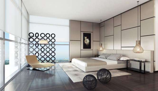 2 Contemporary bedroom design